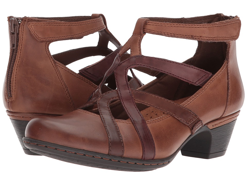 Rockport Cobb Hill Collection - Cobb Hill Adrina (Brick Multi) Womens Shoes