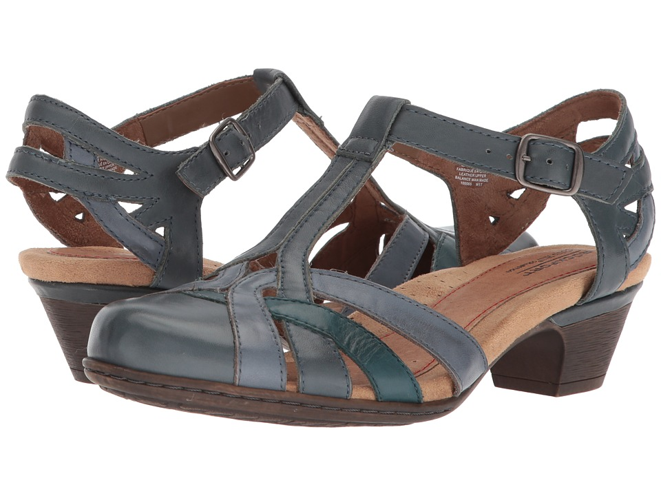 Rockport Cobb Hill Collection Cobb Hill Aubrey (Blue Multi) 1-2 inch heel Shoes