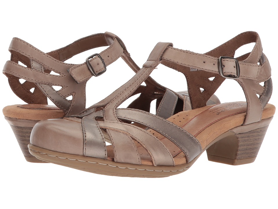 Rockport Cobb Hill Collection Cobb Hill Aubrey (New Khaki Multi) 1-2 inch heel Shoes