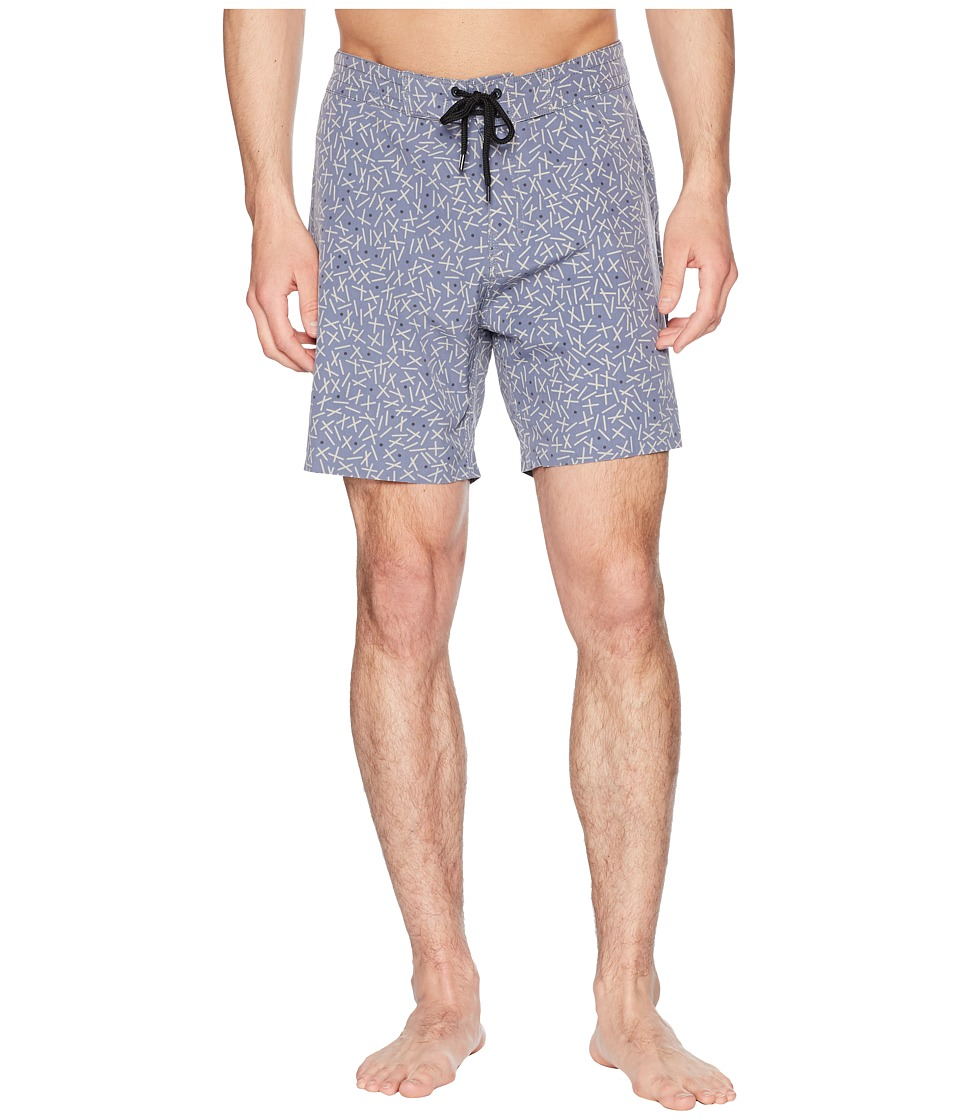 Globe - Shangri La 3.0 Boardshorts (Bruise Blue) Mens Swimwear
