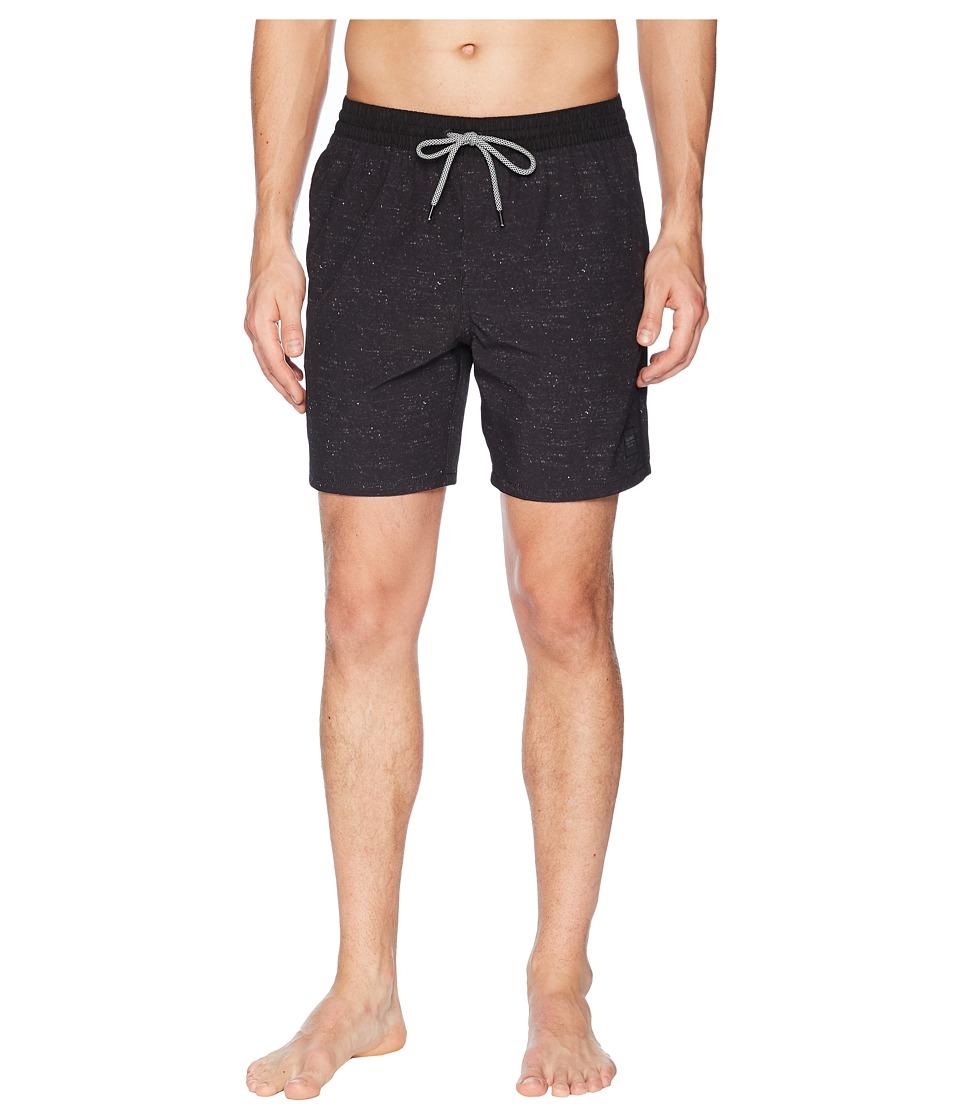 Globe - Spencer 3.0 Poolshorts (Black) Mens Swimwear
