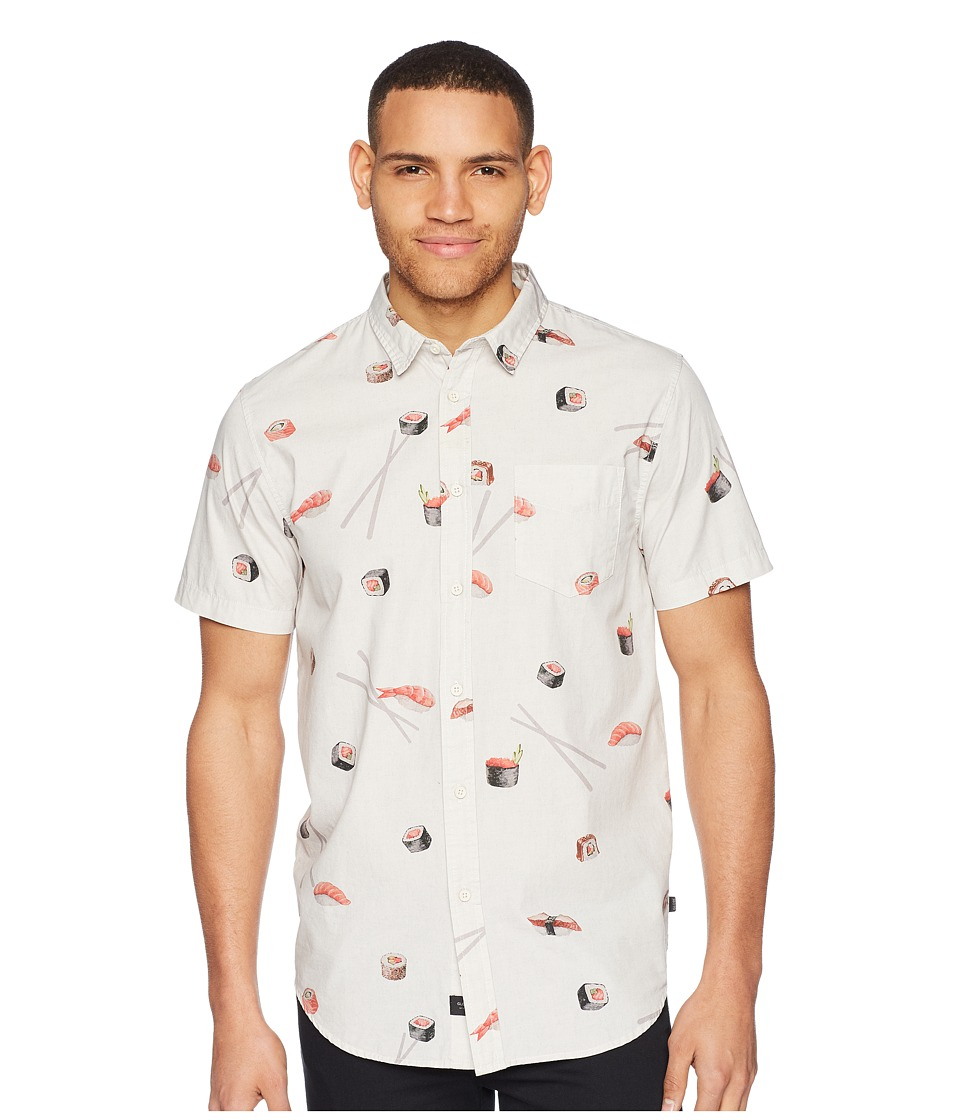 Globe - Sushi Short Sleeve Shirt (Oyster) Mens T Shirt