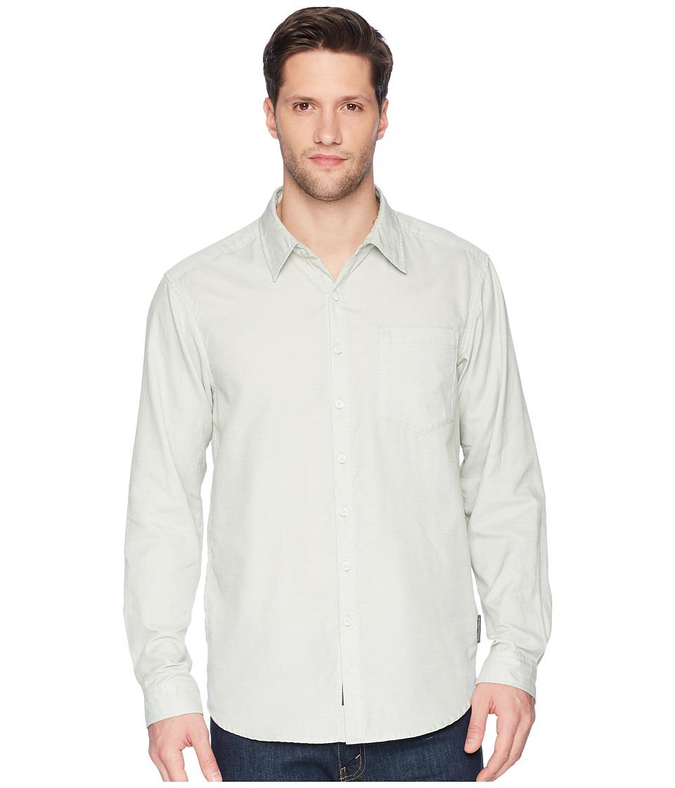 ExOfficio - BugsAway(r) Corfu Long Sleeve Shirt (Dusty Sage) Mens Long Sleeve Button Up