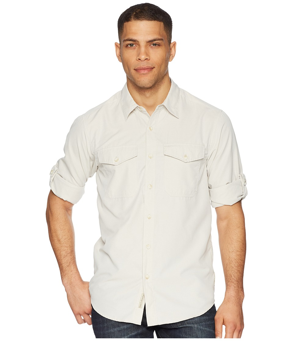 ExOfficio - BugsAway(r) Briso Long Sleeve Shirt (Bone) Mens Long Sleeve Button Up