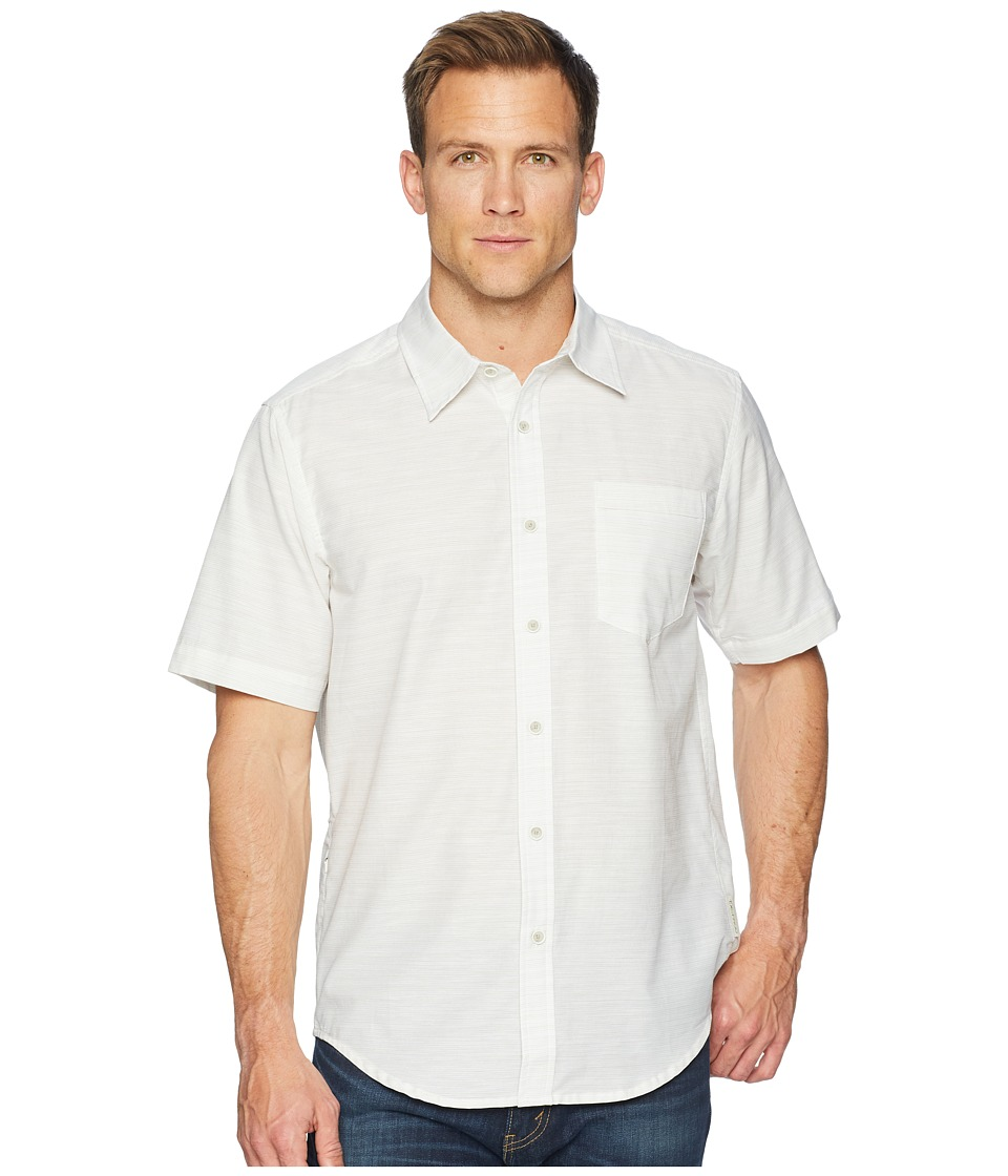 ExOfficio - Soft Cool Avalon Short Sleeve Shirt (Alyssum) Mens Short Sleeve Button Up