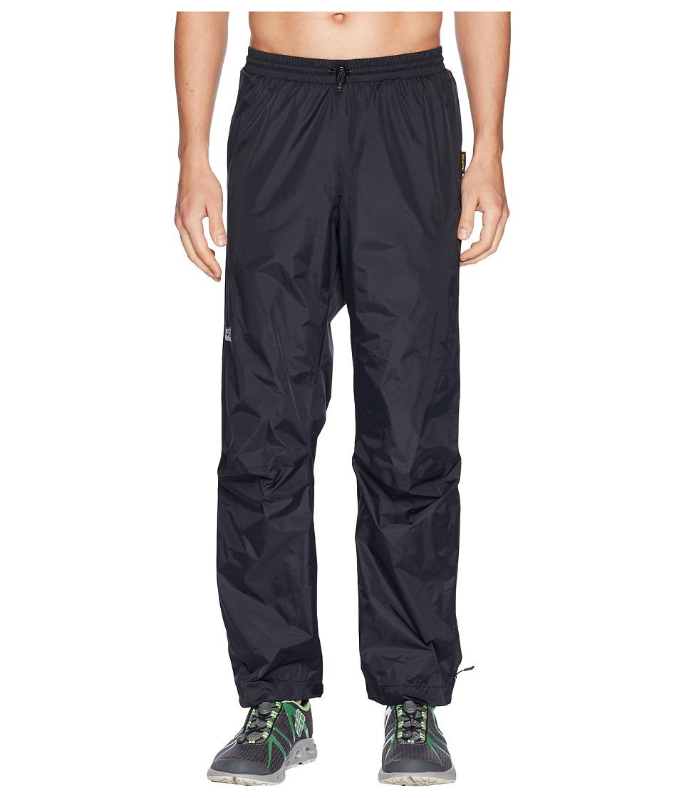 Jack Wolfskin - Cloudburst Pants (Black) Mens Casual Pants
