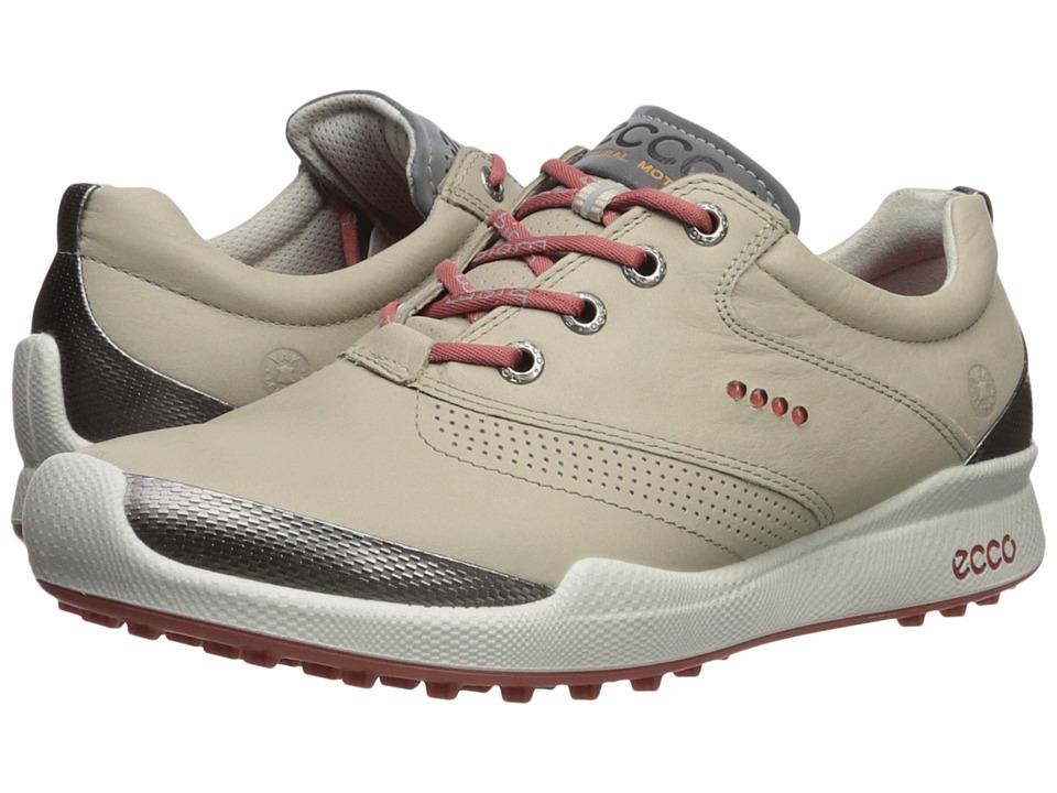 ECCO Golf Biom Golf Hybrid (Oyster/Rosato) Women's Golf Shoes
