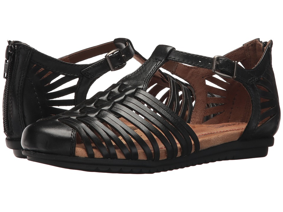 Rockport Cobb Hill Collection Cobb Hill Inglewood Hurache (Black Leather) Women's Shoes