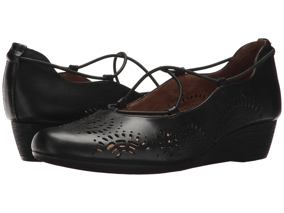 Rockport Cobb Hill Collection - Cobb Hill Judson Cross Pump (Black Leather) Womens Shoes
