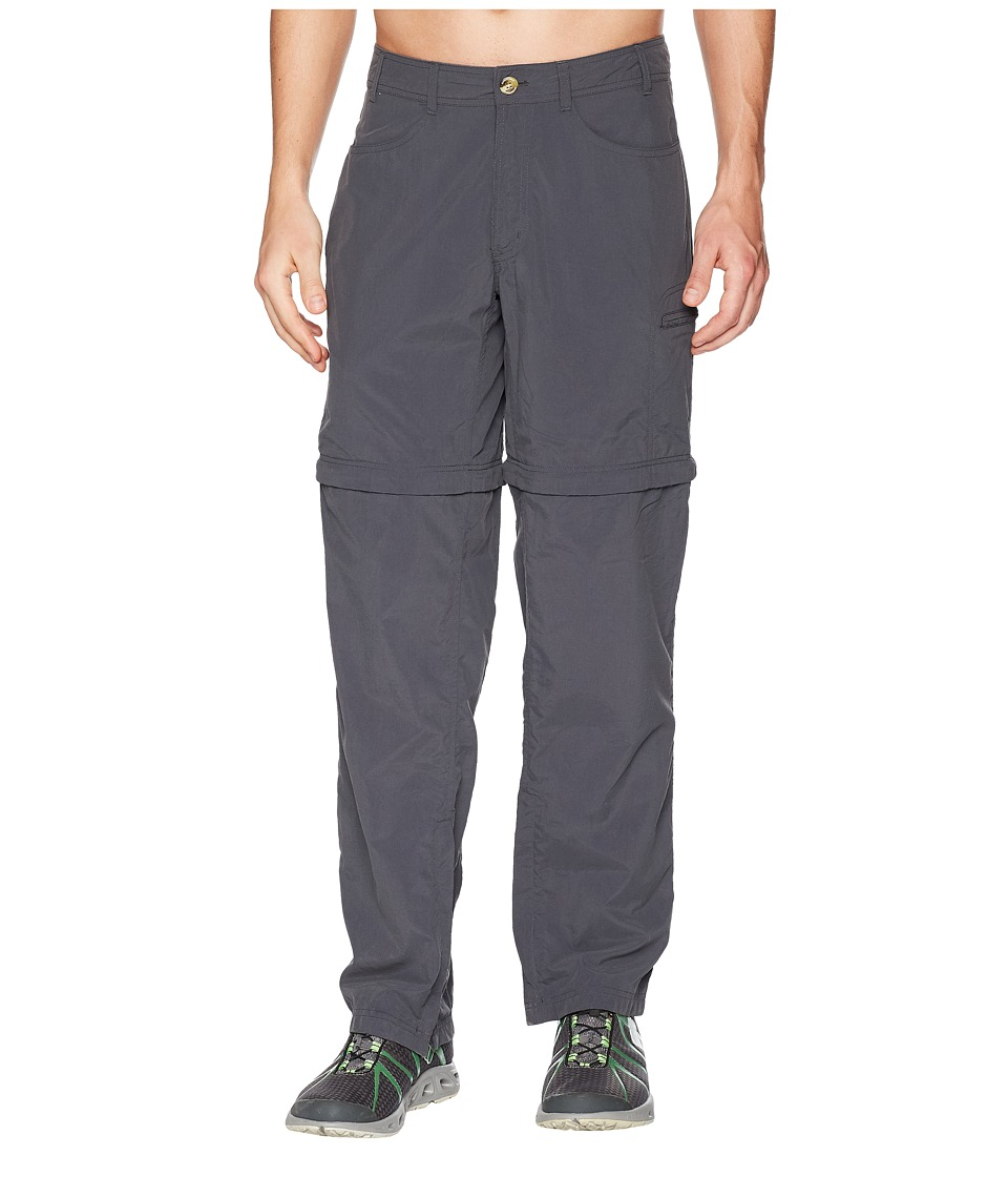 ExOfficio - BugsAway(r) Sol Cool Convertible Ampario Pants (Carbon) Mens Casual Pants