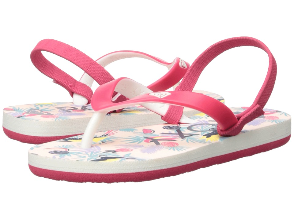 Roxy Kids - Tahiti VI (Toddler) (Red) Girls Shoes