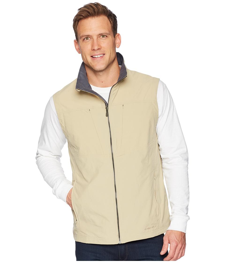 ExOfficio - Sol Cooltm FlyQ Vest (Light Khaki) Mens Vest