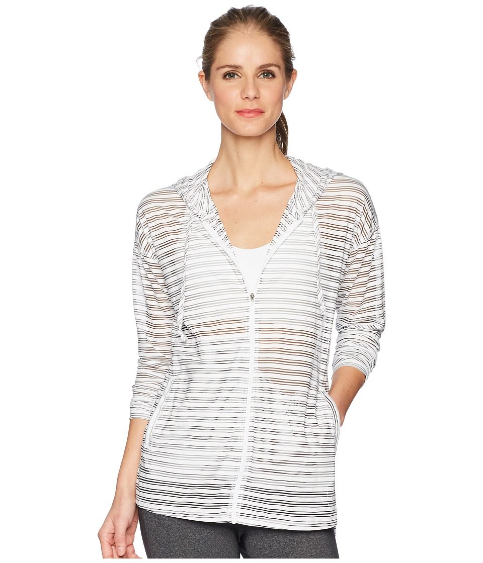 ExOfficio - BugsAway(r) Modena Hoodie (White) Womens Sweatshirt