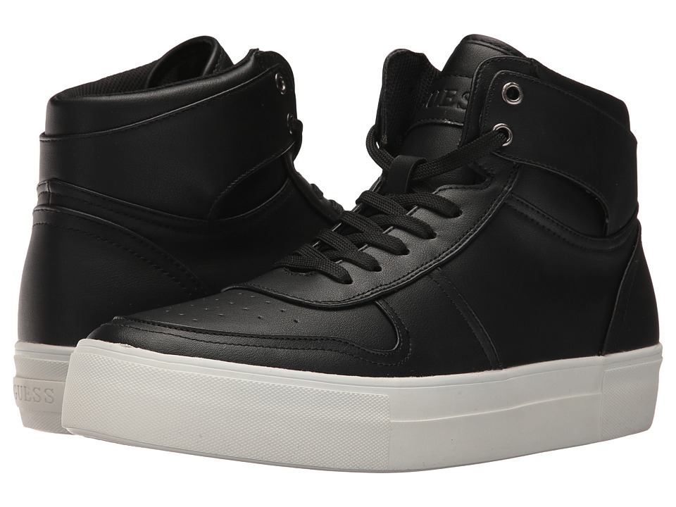 GUESS - Lowry (Black Synthetic) Men's Shoes