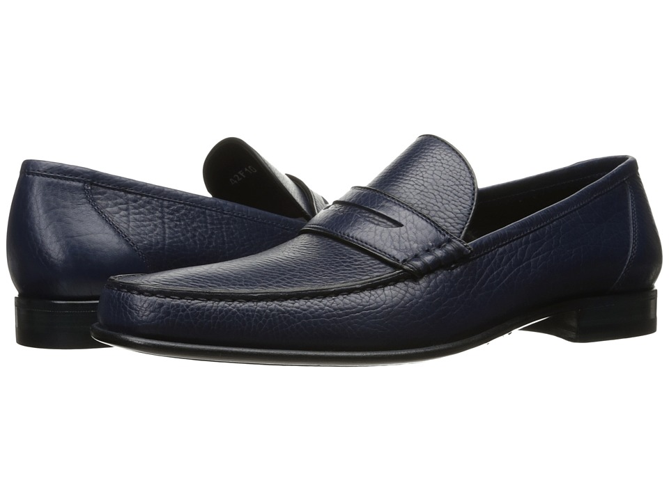 a. testoni - Leather Moccasin