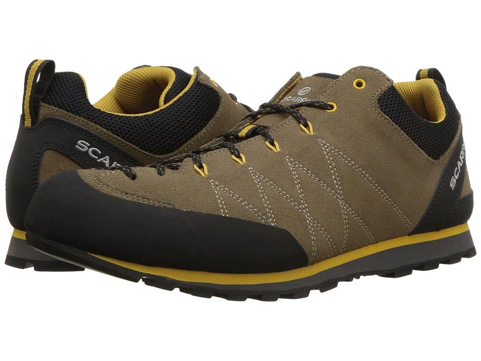 Scarpa - Crux (Light Brown/Mustard) Mens Shoes