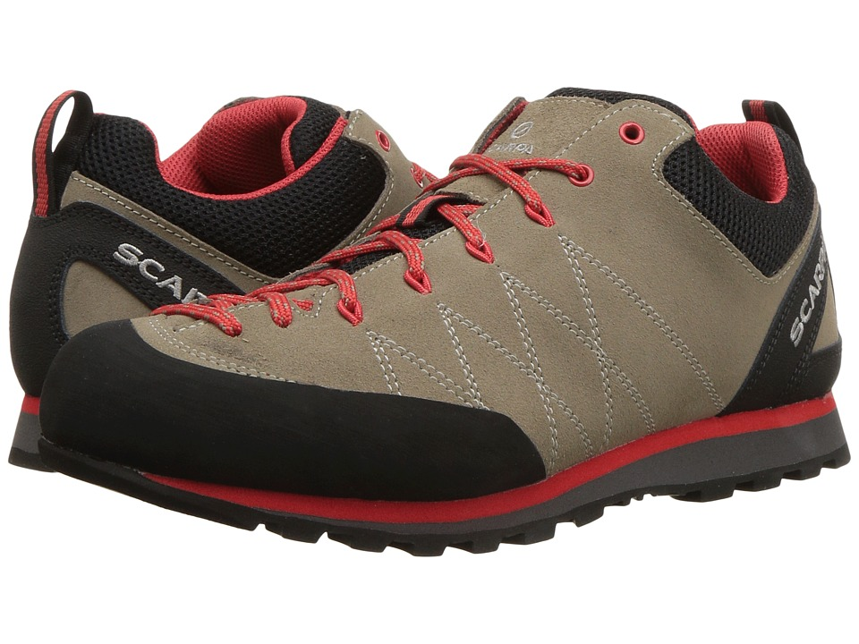 Scarpa - Crux (Camel/Poppy Red) Womens Shoes