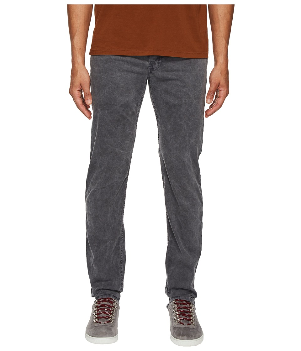 Billy Reid Garment-Dyed Slim Jeans in Charcoal (Charcoal)...