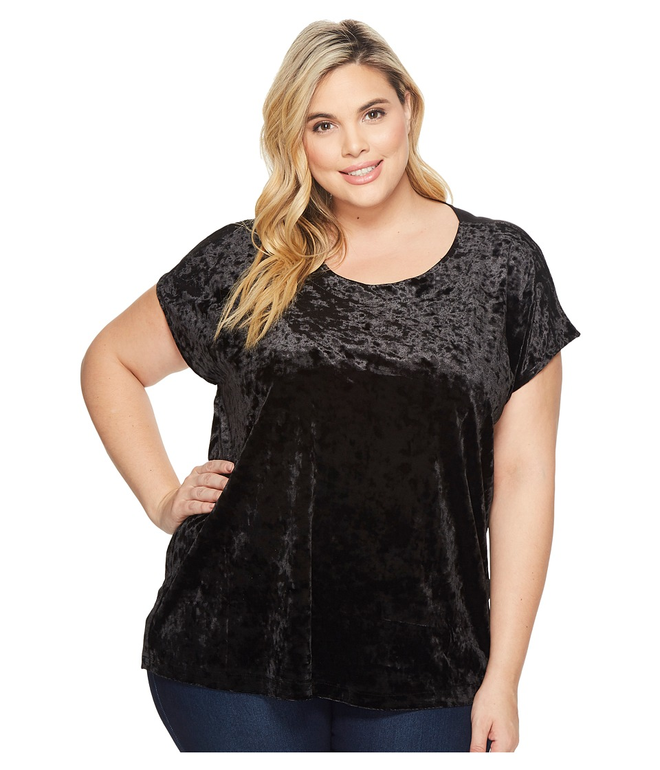 B Collection by Bobeau - Plus Size Kinsey Mixed Tee
