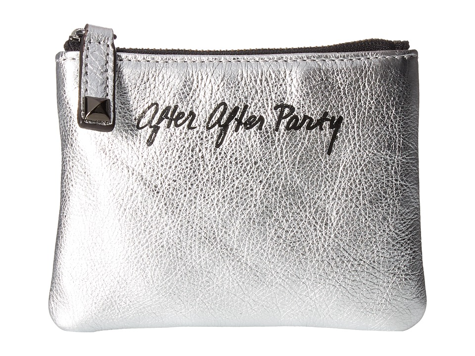 Rebecca Minkoff - Betty Pouch-After After Party (Silver) Wallet Handbags