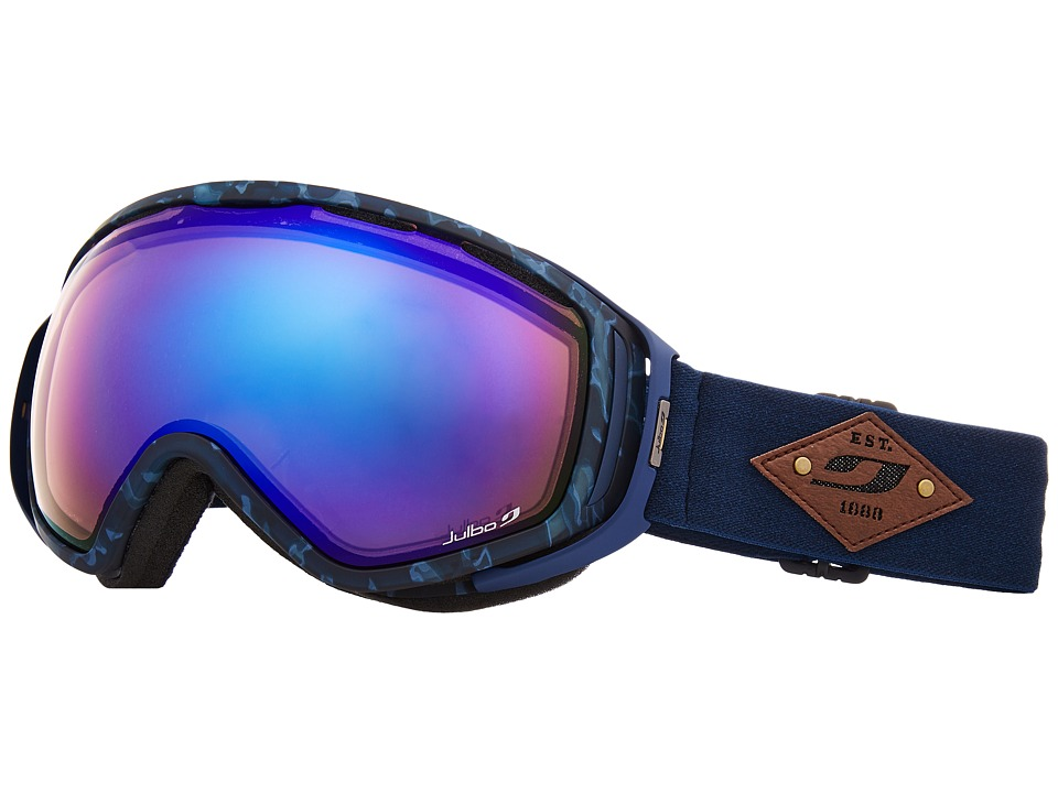 Julbo Eyewear Titan (Tortoiseshell Blue/Zebra Light Red Photochromic Lens) Snow Goggles