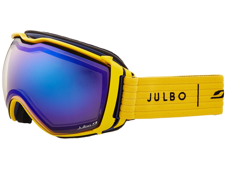 Julbo Eyewear Aerospace (Yellow/Blue with Camel Lens) Snow Goggles