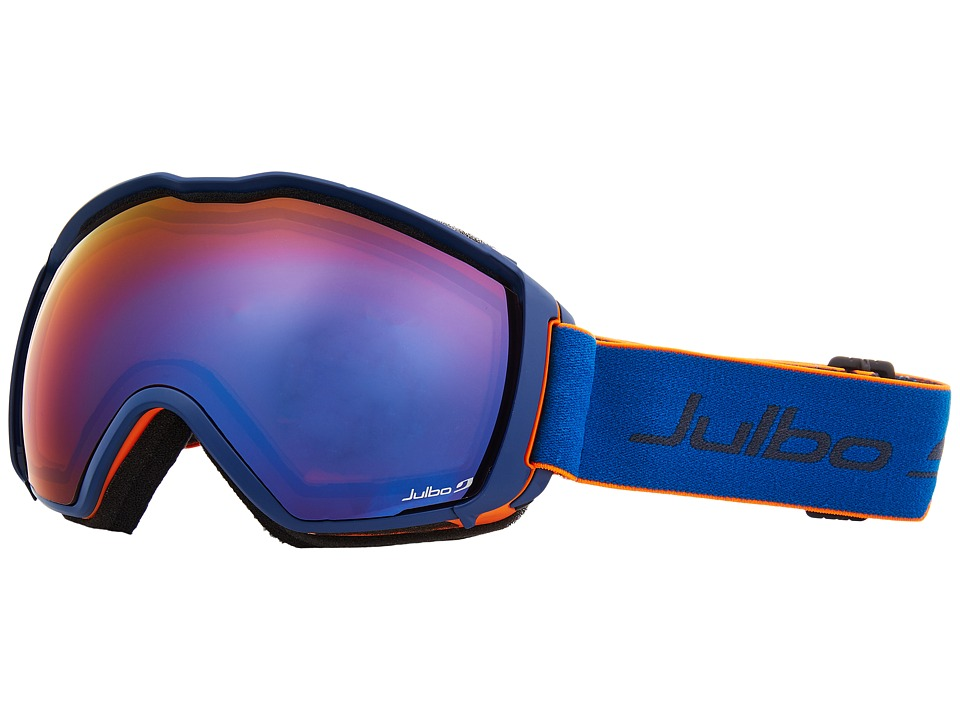 Julbo Eyewear Airflux (Orange/Blue with Spectron 3 Color Flash Lens) Snow Goggles