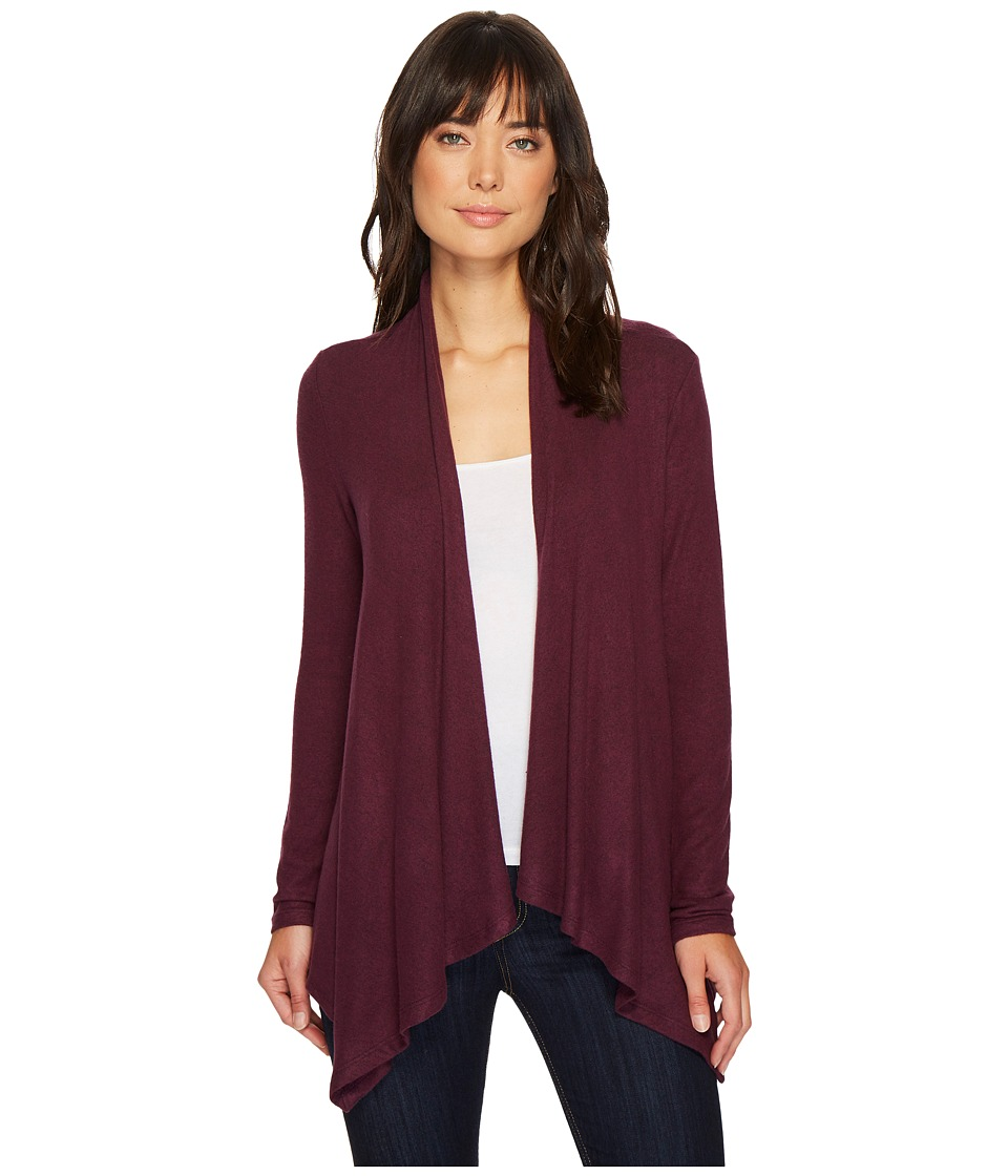 B Collection by Bobeau - Amie Cardigan (Berry) Womens Sweater