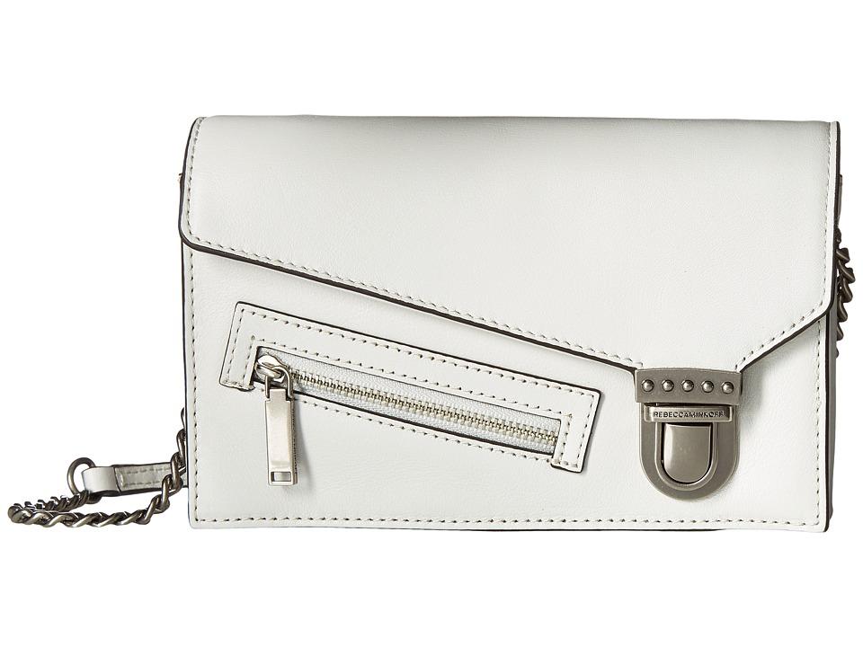 Rebecca Minkoff - Jamie Small Crossbody (Bianco) Cross Body Handbags