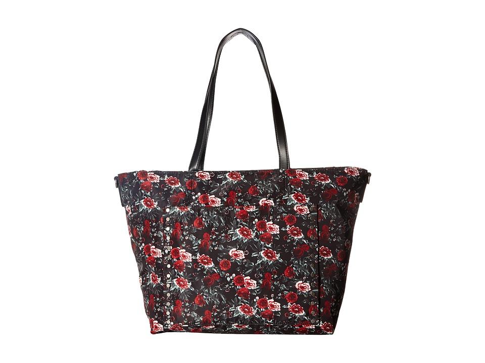 Rebecca Minkoff - Logan Baby Tote (Rose Floral) Tote Handbags