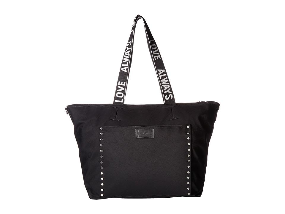 Rebecca Minkoff - Baby Tote w/ Tape Strap (Black) Tote Handbags