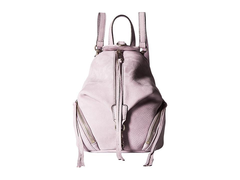 Rebecca Minkoff - Convertible Mini Julian Backpack (Violino) Backpack Bags
