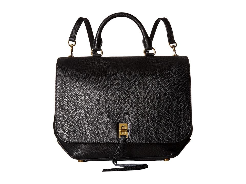 Rebecca Minkoff - Darren Convertible Backpack (Black) Backpack Bags