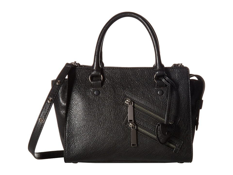 Rebecca Minkoff - Small Jamie Satchel (Black) Satchel Handbags