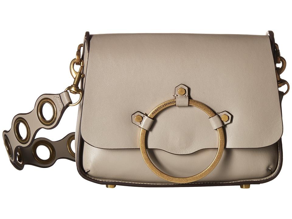 Rebecca Minkoff - Ring Shoulder Bag (Taupe) Handbags
