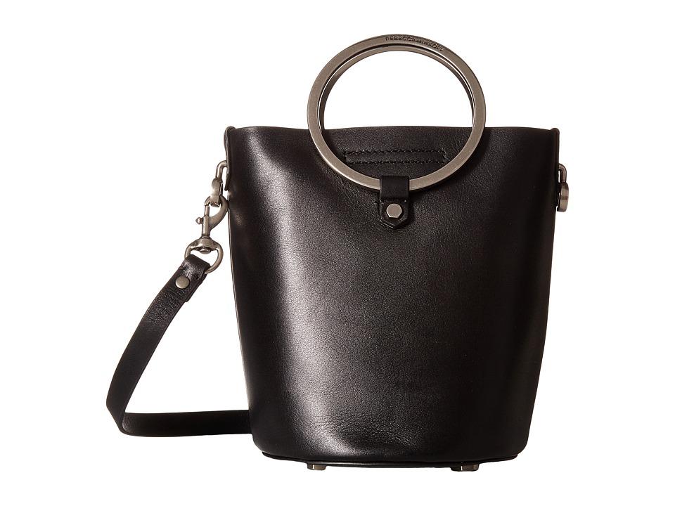 Rebecca Minkoff - Ring Bucket (Black) Handbags