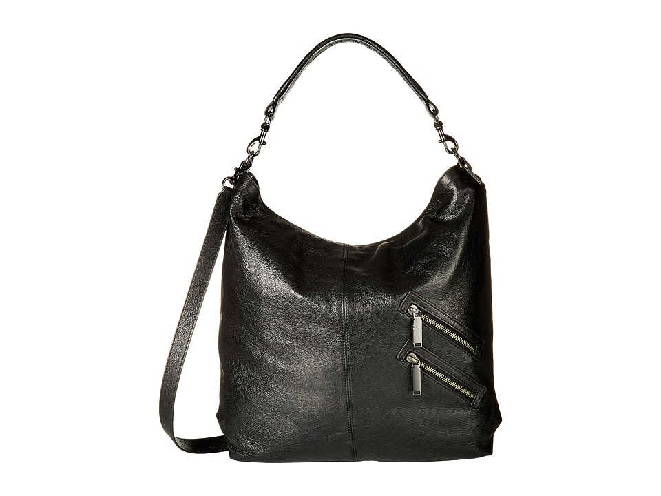 Rebecca Minkoff - Jamie Convertible Hobo (Black) Handbags