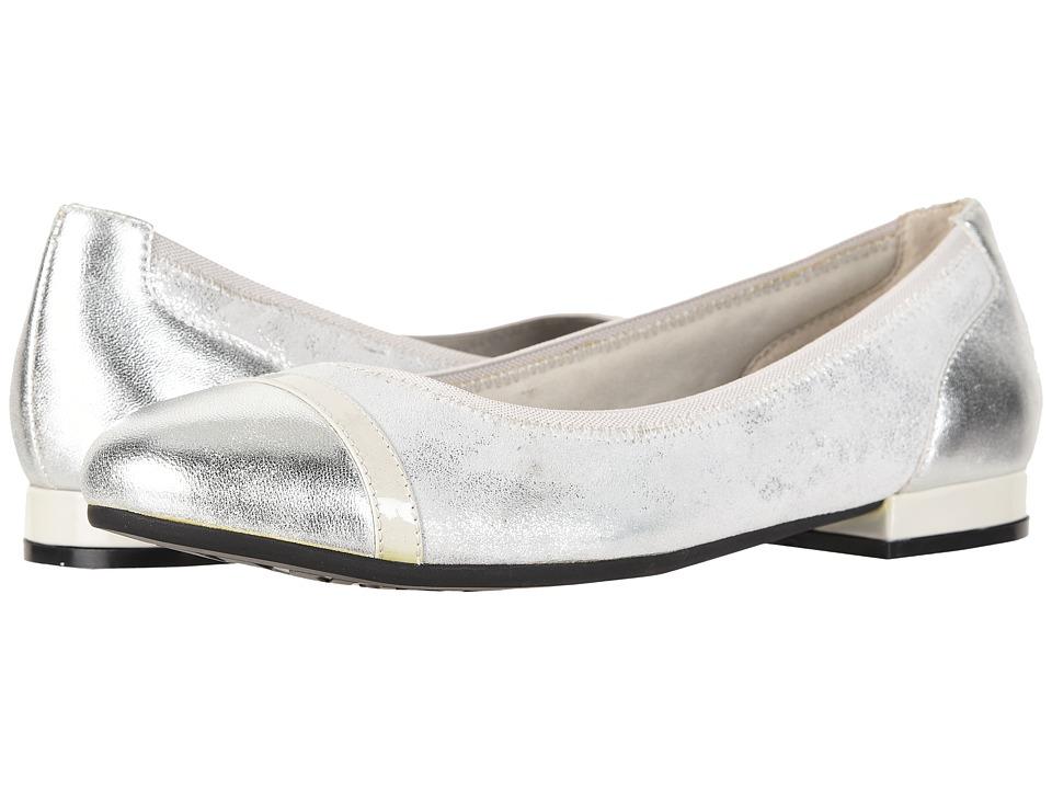 David Tate - Luscious (Grey Combo) Womens  Shoes