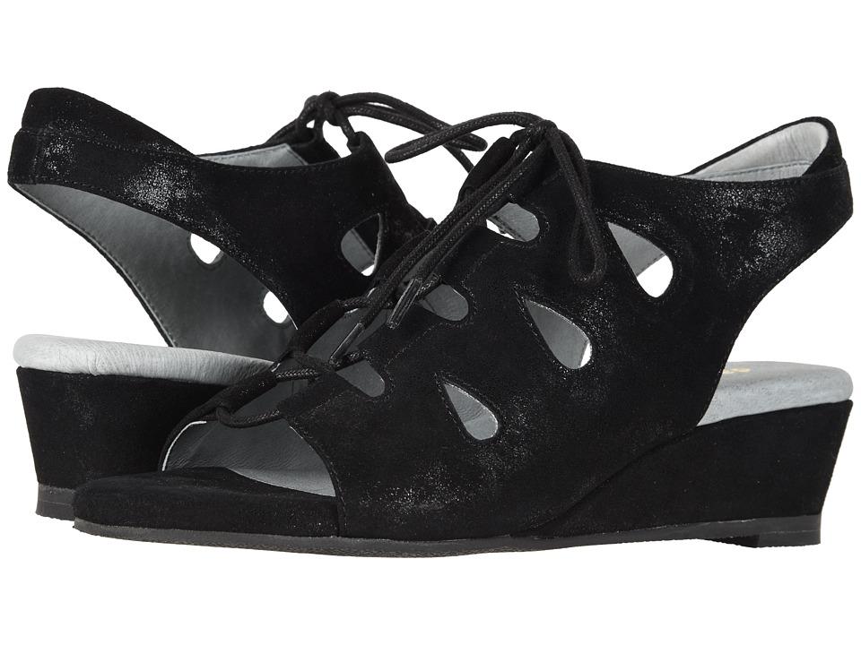 David Tate - Rich (Antique Black) Womens  Shoes