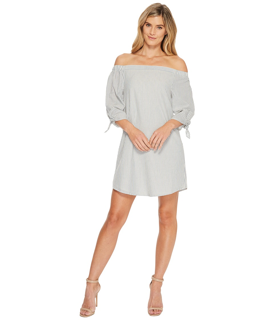 B Collection by Bobeau - Susie Off Shoulder Dress (Blue S...