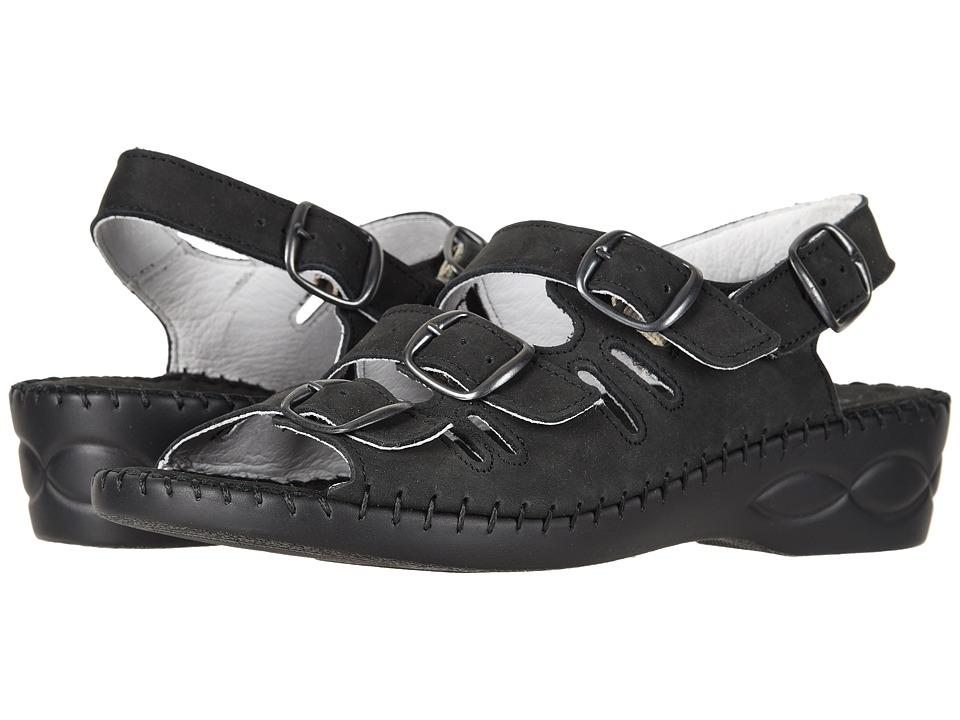 David Tate - Luna (Black) Womens  Shoes