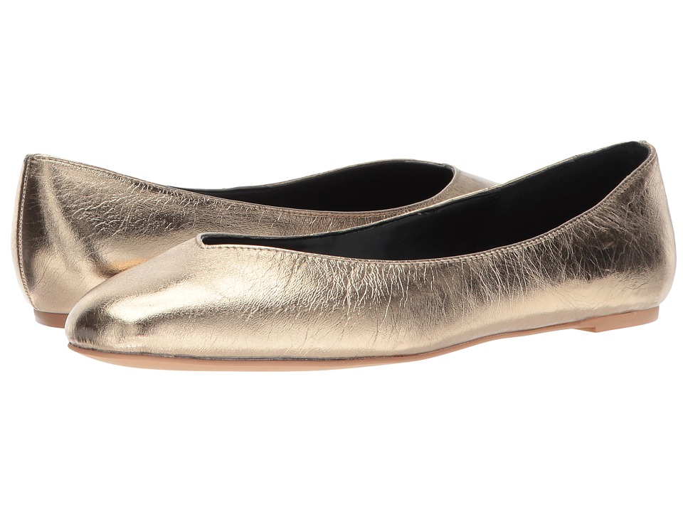 Rebecca Minkoff Viera (Gold Distressed Metallic Leather) Women