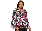 B Collection by Bobeau Plus Size Dawn Flare Sleeve Blouse