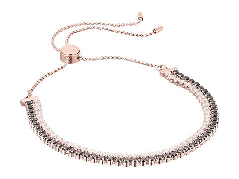 Swarovski Subtle Bracelet - Multi/Rose Gold/Black/Clear Crystal
