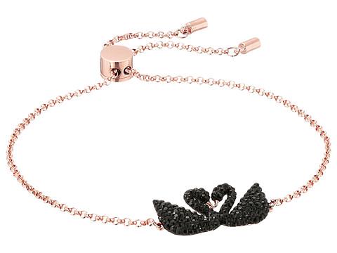 Swarovski Iconic Swan Bracelet - Multi/Rose Gold/Black/Clear Crystal