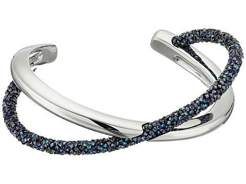 Swarovski Crystaldust Cross Cuff Bracelet - Blue