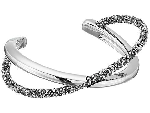 Swarovski Crystaldust Cross Cuff Bracelet - Gray