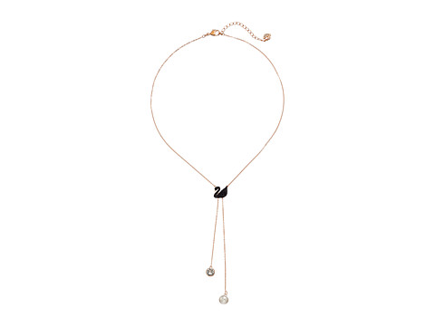 Swarovski Double Y Iconic Swan Necklace - Multi