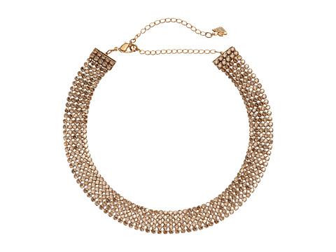 Swarovski Fit Refresh Choker Necklace - Brown