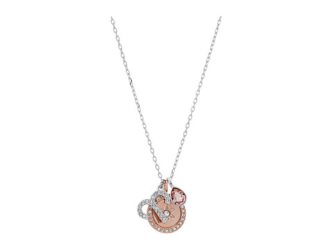 Swarovski Zodiac Pendant Aries Necklace - Pink